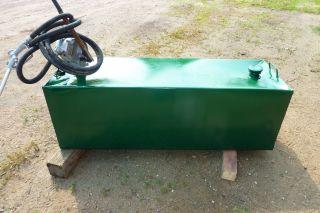 100 Gallon Transfer Fuel Tank Pump Hose Nozzel