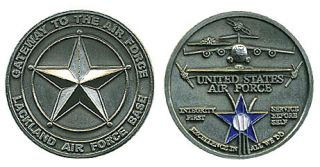 USAF Air Force Lackland AFB Texas Challenge Coin