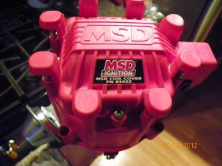 MSD 8365 SBC BBC SMALL BIG BLOCK CHEVY CHEVROLET PRO BILLET HEI