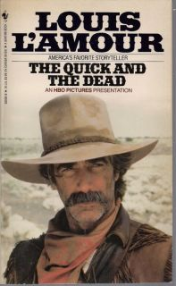Louis LAmour The Quick and The Dead PB Book Western 0553280848