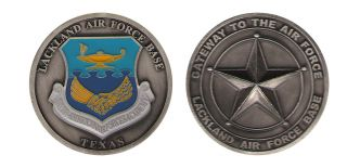USAF Lackland Air Force Base Texas Challenge Coin
