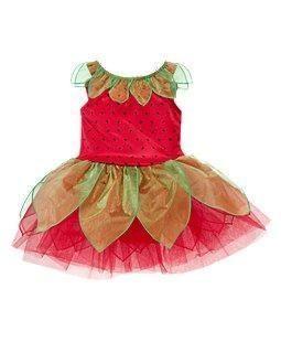 Gymboree Strawberry Fairy Princess Costume 6 12 MO
