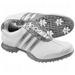 Adidas Driver Val s Womens Ladies Golf Shoes White Silver 10