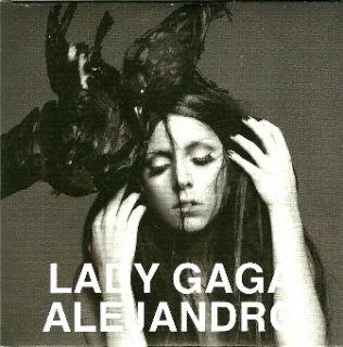 Lady Gaga Alejandro Greek Promo Official Collectors CD