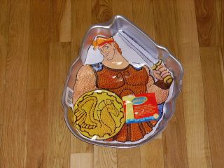New Wilton Disney Hercules Birthday Cake Pan Mold Movie