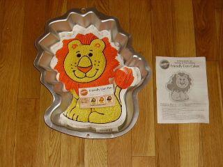 Lion Zoo Jungle Animal King Mufasa Simba Cat Cake Pan 2105 1012