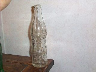 1956 Embossed Try Me Soda Bottle RARE 7 oz Size Lagrange GA L K