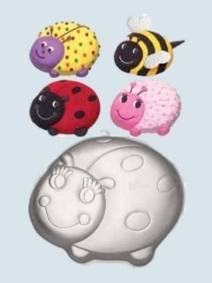 Wilton Lady Bug Cake Pan Novelty New