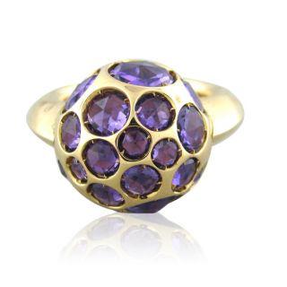 Pomellato Harem 18K Gold Amethyst Ring $6570