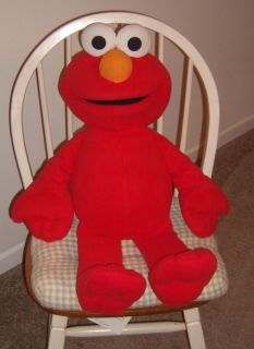 LARGE TALKING ELMO PLUSH DOLL, 24 LONG, Sesame Street, Fisher Price