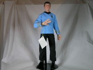 Star Trek Mr Spock Porcelain Doll Hamilton Collection