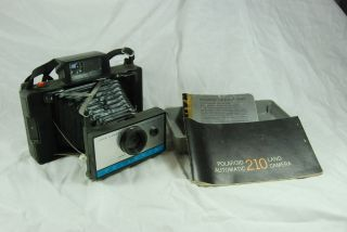 Polaroid Folding Land Camera Automatic Model 210 Instant Film Camera