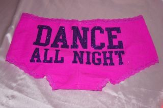 victoria Secret Pink Sayings Panty Boyshort Binkini Panties Sleep