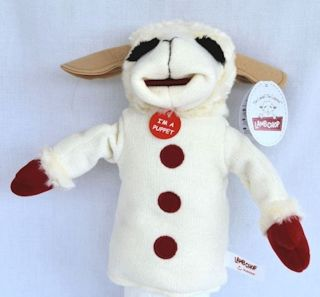 Sheri Lewiss Lamb Chop Puppet by Aurora 10 Soft Movable Mouth 3 and