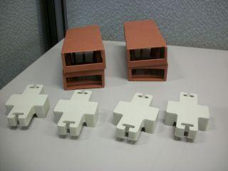 Lets Edge It Decorative Plastic Brick Edging Terra Cotta 25