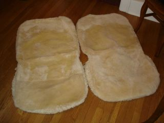 LAMO Australian Sheepskin Seat Covers in Exception Condition