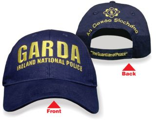 GARDA IRELAND IRISH NATIONAL POLICE BASEBALL STYLE HAT CAP BNWT FREE