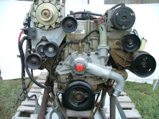 1997 Complete 7 3L Powerstroke Engine E4OD Transmission 9700