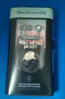 Skullcandy Full Metal Jacket Ear Buds