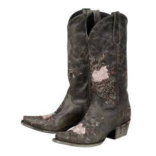 Lane Western Boots Womens Cowboy Brandy Distressed Grey 51 A