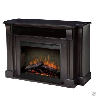 Dimplex Langley TV Electric Fireplace Media Console w 26 Firebox