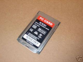 SCR201 PCMCIA Smart Card Reader Writer