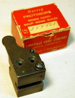 Lakeville Arms Harvey Protxbore Cast Bullet Mold