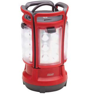 Coleman LED Quad 4 Panel Lantern Camping Outdoor Light