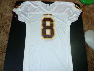 Arizona State Sun Devils 8 Wilson NCAA Game Football Jersey Sz Mens L