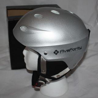 Ski Snowboard Snow Helmet 540 Silver 2012 Size Large $9 99