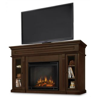 Real Flame LANNON ELECTRIC Fireplace Heater Dark Walnut or EXPRESSO