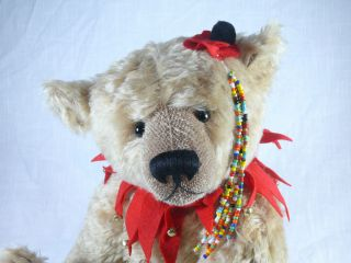 21 inch OOAK Antique Style Artist Teddy Bear by Victoria Dickinson