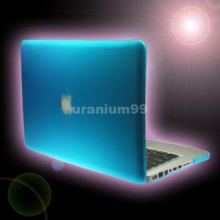 MacBook PRO Matte Hard Case Plastic Shell Laptop Notebook   AQUA BLUE
