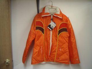 Arctic Cat New Vintage Womens Large Orange Coat