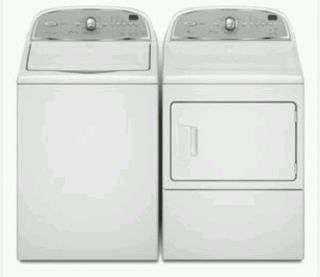 Whirlpool Cabrio Washer Dryer Set Extra Large Capacity