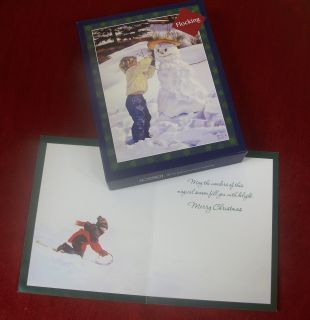 Embellished Lang Boxed Christmas Cards The Sculptor by Artist M Bayton