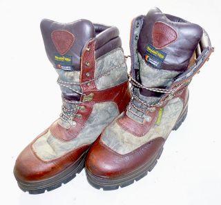 SURVIVORS Big Buck III Waterproof Thinsulate Boots Brown Camo Size 12