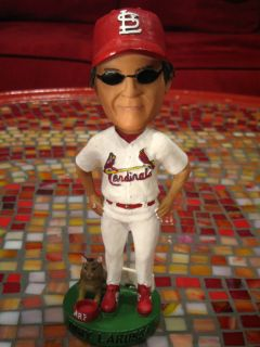 Tony LaRussa St Louis Cardinals SGA Bobblehead ARF
