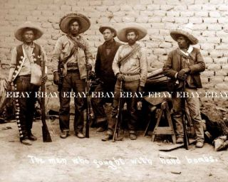 EL REBELDE DE LA REVOLUCION REVOLUTION MEXICANA MEXICAN BOMBARDEA FOTO