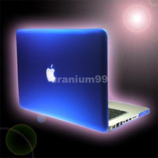 MacBook Pro Matte Hard Case Plastic Shell Laptop Notebook Blue