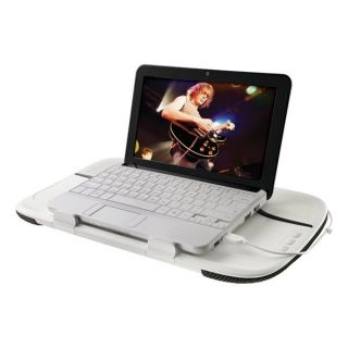 Lapdesk N550 w/ USB Speakers for up 14 Laptop Notebooks Netbooks