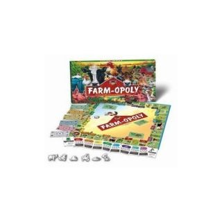 Opoly Farmopoly Board Monopoly Game Late for The Sky Farming