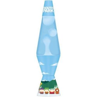 Lava Lite 14 5 Inch 20 Ounce South Park Lava Lamp White Wax Classic