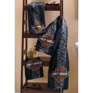 PC Harley Davidson Motorcylce Bath Towel Set New