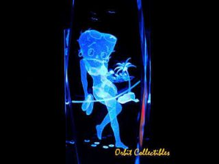 3D Laser Crystal Betty Boop 1 Christmas Gift