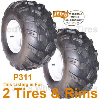 18 9 50 8 Riding Lawn Mower Garden Tractor Tires Rim Wheel 4ply
