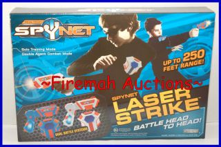 NEW SPY NET LASER STRIKE LAZER TAG GUNS DUELING SYSTEMS 2 PLAYER DUAL