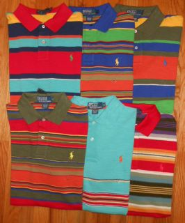 New Polo Ralph Lauren Mens Shirts Tops Size s M L XL XXL Collared