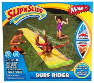 Wham O Kids Yard Lawn Water Toy Play Surf Rider Slip N Slide