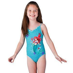 New Disney Princess Ariel Reversible Swimsuit 2T 3T